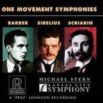 One Movement Symphonies: Barber, Sibelius, Scriabin