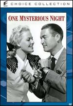 One Mysterious Night - Budd Boetticher