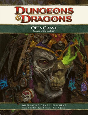 Open Grave: Secrets of the Undead - Cordell, Bruce R, and Bernstein, Eytan, and James, Brian R