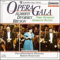 Opera Gala - Lucia Aliberti (soprano); Peter Dvorsky (tenor); Renato Bruson (baritone); Tokyo Philharmonic Orchestra;...