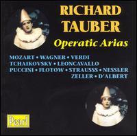 Operatic Arias - Benno Ziegler (baritone); Carlotta Vanconti (soprano); Richard Tauber (tenor)