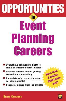 Opportunities in Event Planning Careers - Camenson, Blythe