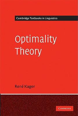 Optimality Theory - Kager, Rene, Dr.