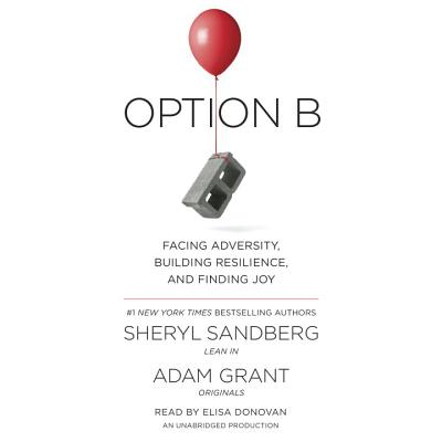 Option B: Facing Adversity, Building Resilience, and Finding Joy - Sandberg, Sheryl, and Grant, Adam, and Donovan, Elisa (Read by)