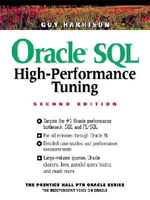 Oracle SQL High-Performance Tuning - Harrison, Guy