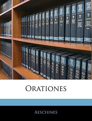 Orationes - Aeschines