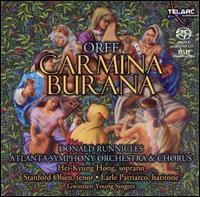 Orff: Carmina Burana - Earle Patriarco (baritone); Hei-Kyung Hong (soprano); Stanford Olsen (tenor); Atlanta Symphony Chorus (choir, chorus);...