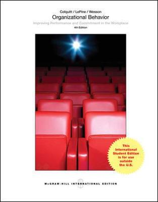 9781259252204 organizational behavior improving performance and organizational behavior improving performance and commitment in the workplace colquitt jason a fandeluxe Image collections