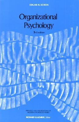 Organizational Psychology - Schein, Edgar H