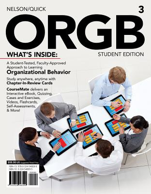 Orgb 3, Student Edition (with Coursemate and Transitions 2.0 Printed Access Card) - Nelson, Debra L, Dr.