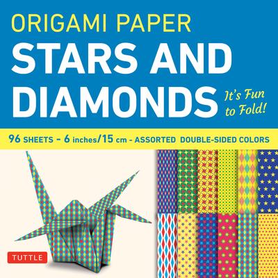 Origami Paper Stars and Diamonds: It's Fun to Fold! - Publishing, Tuttle (Creator)
