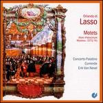 Orlando di Lasso: Patrocinium Musices, 1573-1574