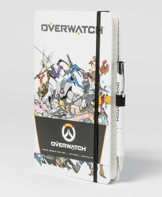 Overwatch: Hardcover Ruled Journal with Pen - Insight Editions