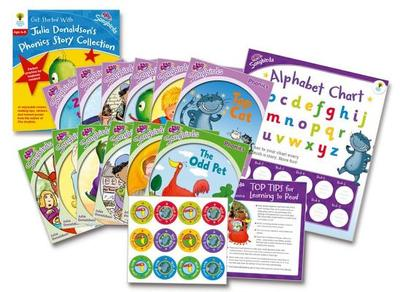 Oxford Reading Tree Songbirds: Levels 1+ and 2: Get Started With Julia Donaldson's Phonics Story Collection - Donaldson, Julia, and Kirtley, Clare (Series edited by)