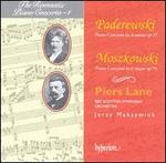 Paderewski: Piano Concerto in A minor, Op. 17; Moszkowski: Piano Concerto in E major, Op. 59