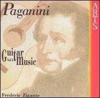 Paganini: Guitar Music, Vol. 2 - Frédéric Zigante (guitar)