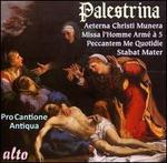 Palestrina: Stabat Mater; Missa Aeturna