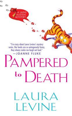 Pampered to Death: A Jaine Austen Mystery - Levine, Laura