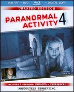 Paranormal Activity 4 [Unrated Director's Cut] [Blu-ray/DVD] [Includes Digital Copy] [Ultraviolet]