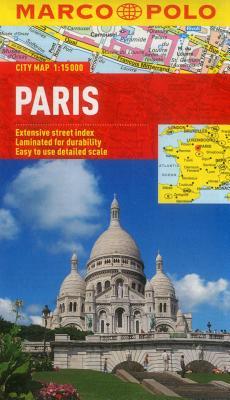 Paris Marco Polo City Map - Marco Polo