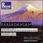 Parsadanian: Symphony No. 1; Symphony No. 2