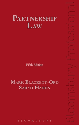 Partnership Law - Blackett-Ord, Mark, and Haren, Sarah