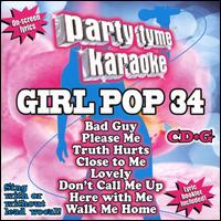 Party Tyme Karaoke: Girl Pop, Vol. 34 - Various Artists