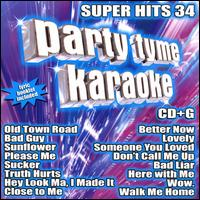 Party Tyme Karaoke: Super Hits, Vol. 34 - Various Artists