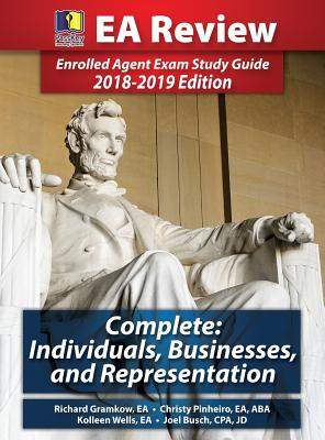Passkey Learning Systems EA Review Complete: Individuals, Businesses, and Representation: Enrolled Agent Exam Study Guide 2018-2019 Edition (Hardcover) - Gramkow, Richard, and Busch, Joel, and Pinheiro, Christy
