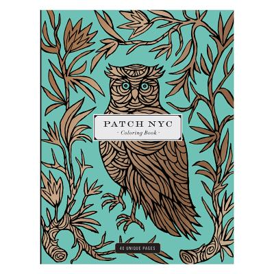 Patch NYC Coloring Book - Galison