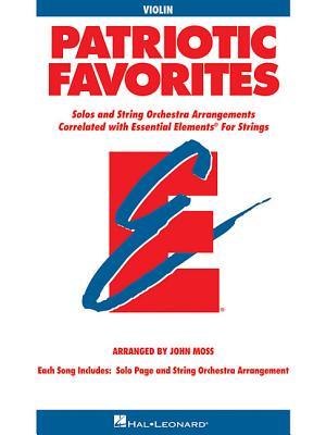 Patriotic Favorites for Strings: Violin Book (Parts 1/2) - Moss, John, Dr.