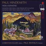 Paul Hindemith: Viola Sonatas
