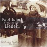 Paul Juon: Lieder