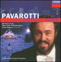 Pavarotti in Central Park - Andrea Griminelli (flute); Luciano Pavarotti (tenor); The Boys Choir of Harlem (boy's choir); Members of the New York Philharmonic; Leone Magiera (conductor)