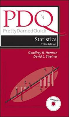 PDQ Statistics - Norman, Geoffrey R, PH.D., and Streiner, David L