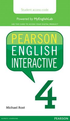 Pearson English Interactive 4 (Access Code Card) - Rost, Michael