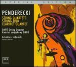 Penderecki: String Quartets; String Trio; Clarinet Quartet