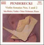 Penderecki: Violin Sonatas Nos. 1 & 2