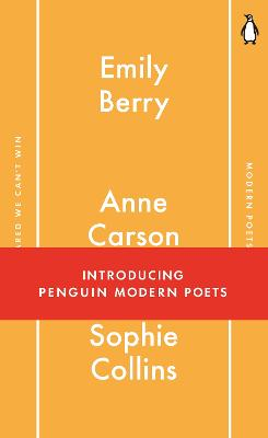 Penguin Modern Poets 1: If I'm Scared We Can't Win - Berry, Emily