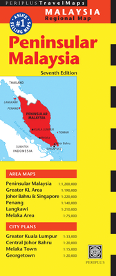 Peninsular Malaysia Travel Map Seventh Edition -