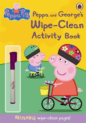 Peppa Pig: Peppa and George's Wipe-Clean Activity Book -