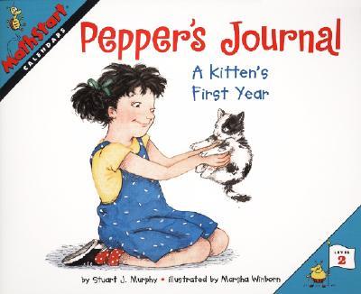 Pepper's Journal: A Kitten's First Year - Murphy, Stuart J.