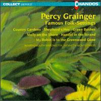 Percy Grainger: Famous Folk-Settings - Moray Welsh (cello); Philip Martin (piano); Bournemouth Sinfonietta; Kenneth Montgomery (conductor)