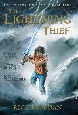 Percy Jackson and the Olympians the Lightning Thief: The Graphic Novel - Riordan, Rick, and Venditti, Robert