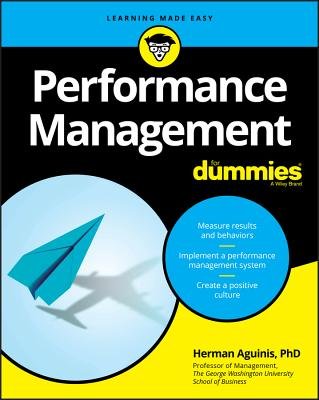 Performance Management For Dummies - Aguinis, Herman