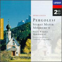 Pergolesi: Stabat Mater; Miserere II - Academy of Ancient Music; Academy of St. Martin in the Fields; Christopher Keyte (bass); David James (counter tenor);...