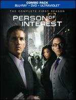 Person of Interest: The Complete First Season [10 Discs] [UltraViolet] [Blu-ray/DVD]