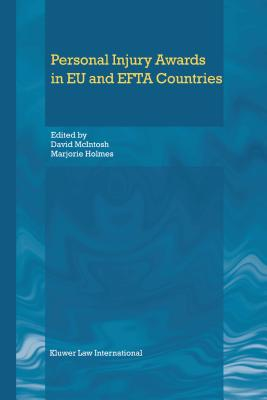 Personal Injury Awards in Eu and Efta Countries - Holmes, Marjorie