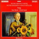 Peter Arnold Heise, Peter Erasmus Lange-M�ller: Songs