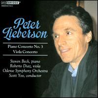 Peter Lieberson, Vol. 3: Piano Concerto No. 3; Viola Concerto - Roberto Díaz (viola); Steven Beck (piano); Odense Symphony Orchestra; Scott Yoo (conductor)